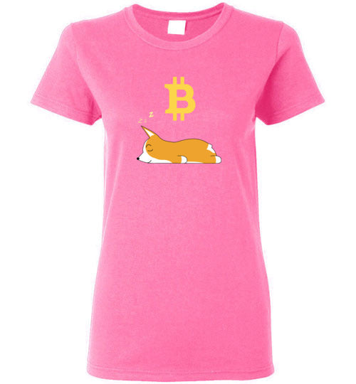 Bitcoin Dreams - Gildan Ladies Short-Sleeve T-Shirt