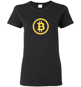 Bitcoin BTC - Gildan Ladies Short-Sleeve T-Shirt