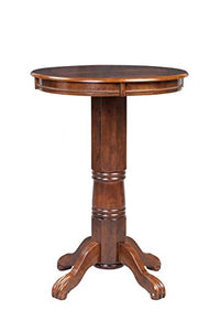 Boraam 71742 Florence Pub Table, 42-Inch, Cappuccino