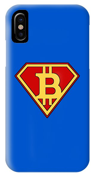 Bitcoin Super Hero - Phone Case