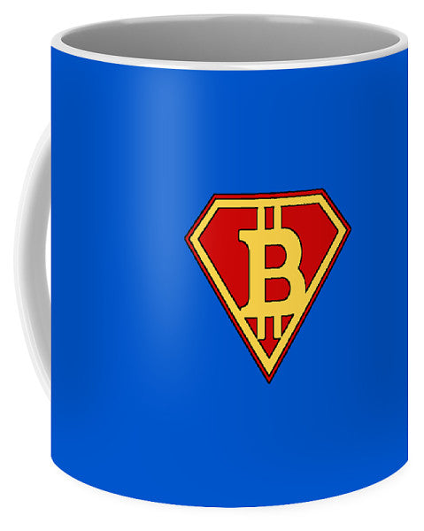 Bitcoin Super Hero - Mug