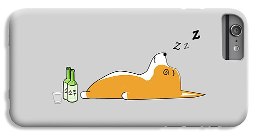 Corgi Nightlife - Phone Case