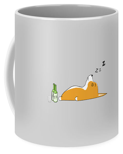 Corgi Nightlife - Mug
