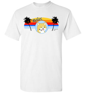 Retro Relax Doge Cigar - Gildan Short Sleeve T-Shirt