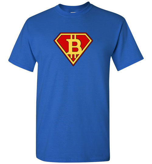 Bitcoin Super Hero - Gildan Short Sleeve T-Shirt