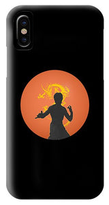 Golden Dragon Kungfu - Phone Case