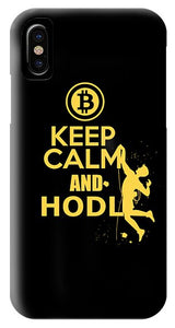 Keep Calm And Hodl - Phone Case