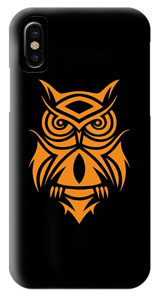 Tribal Owl - Phone Case