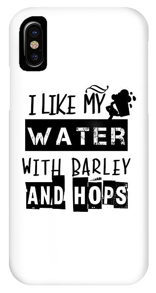 Water Barley Hops - Phone Case