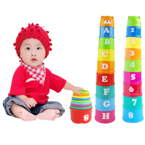 Baby Toy  Learning Education Jenga Cup