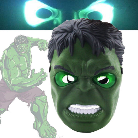 2017 New The Avengers Hulk Flash Mask LED
