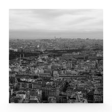 Paris landscape canvas
