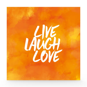 Live laugh love lightbox
