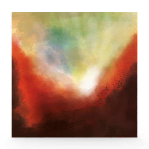 Limited edition abstract 'Elysium' print lightbox