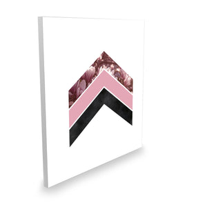 Geometric arrow lightbox