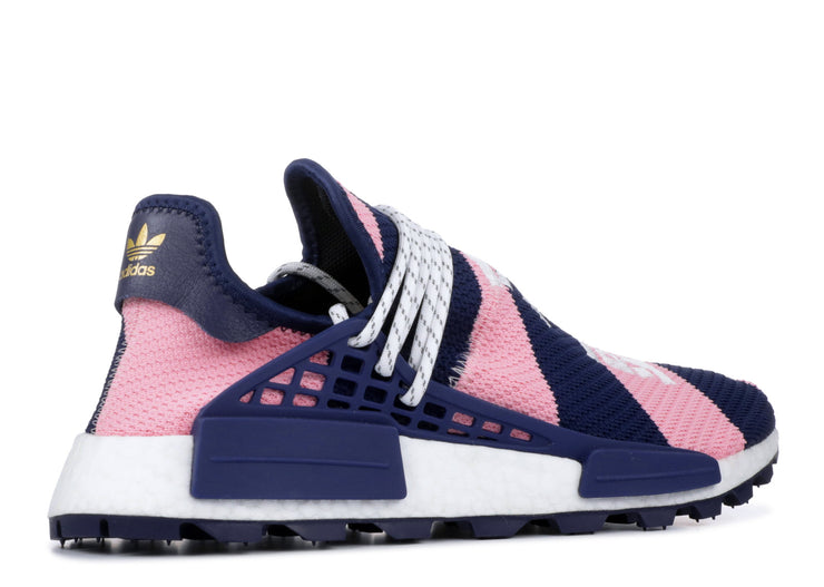 5a69b8700 Adidas NMD Hu Pharrell x Billionaire Boys Club Navy Pink – The Kingsfare