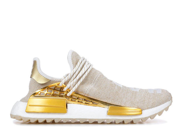 sports shoes b6442 8d14e Adidas Pharrell NMD HU China Pack Happy (Gold) (Friends and Family)