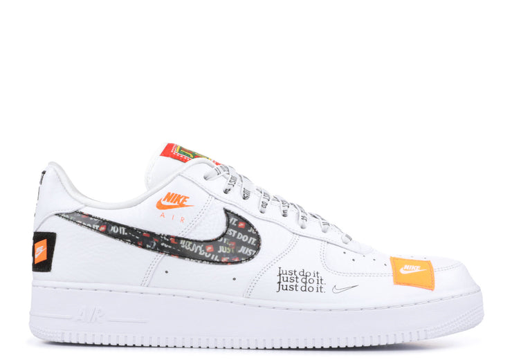 online retailer 5e49e 13669 Nike Air Force 1 Low Just Do It Pack WhiteBlack
