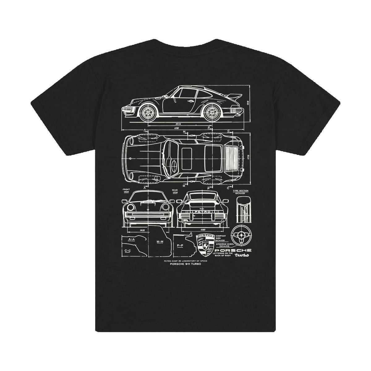 Turbo Blueprint T-Shirt