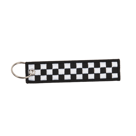 Checkered Flag Keychain