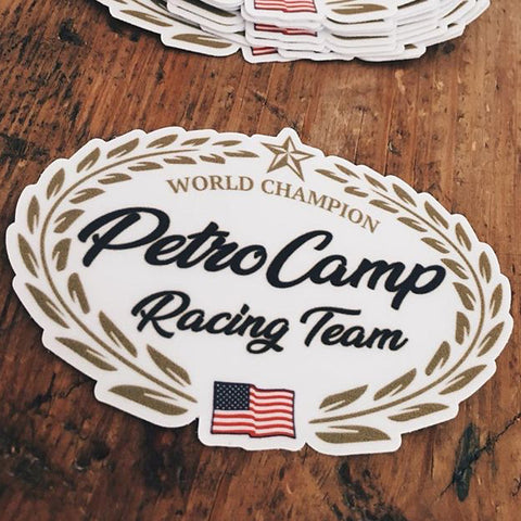 Racing Team Sticker