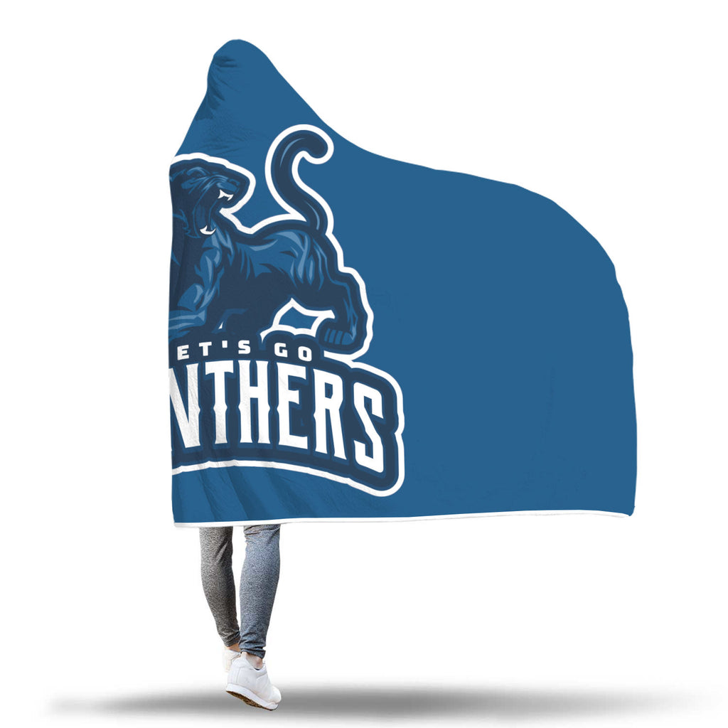 Image of Panthers Hooded Blanket