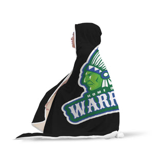 Warriors Hooded Blanket