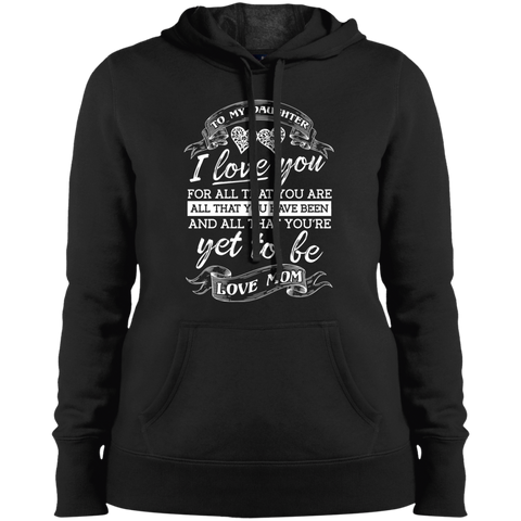 ALL THAT YOU ARE LST254 Sport-Tek Ladies' Pullover Hooded Sweatshirt