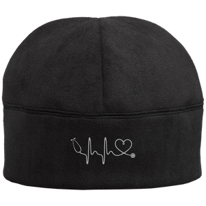 Amazing Nurse/Doctor Heart Embroidered Fleece Beanie