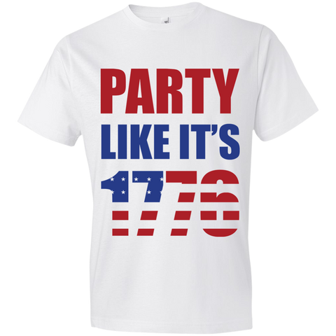 Image of Party Likes 1776 980 Anvil Lightweight T-Shirt 4.5 oz