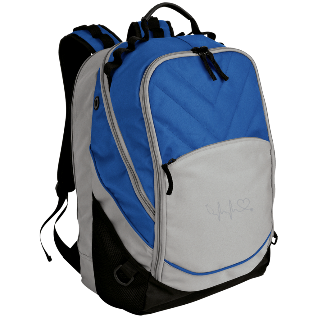 Amazing Nurse/Doctor Heart Embroidered Laptop Computer Backpack
