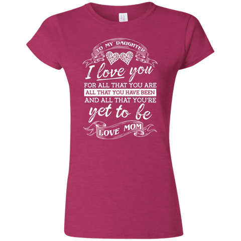 ALL THAT YOU ARE G640L Gildan Softstyle Ladies' T-Shirt