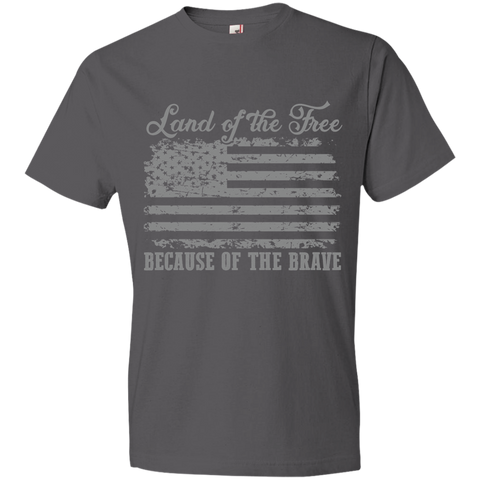 Home of the Brave 980 Anvil Lightweight T-Shirt 4.5 oz