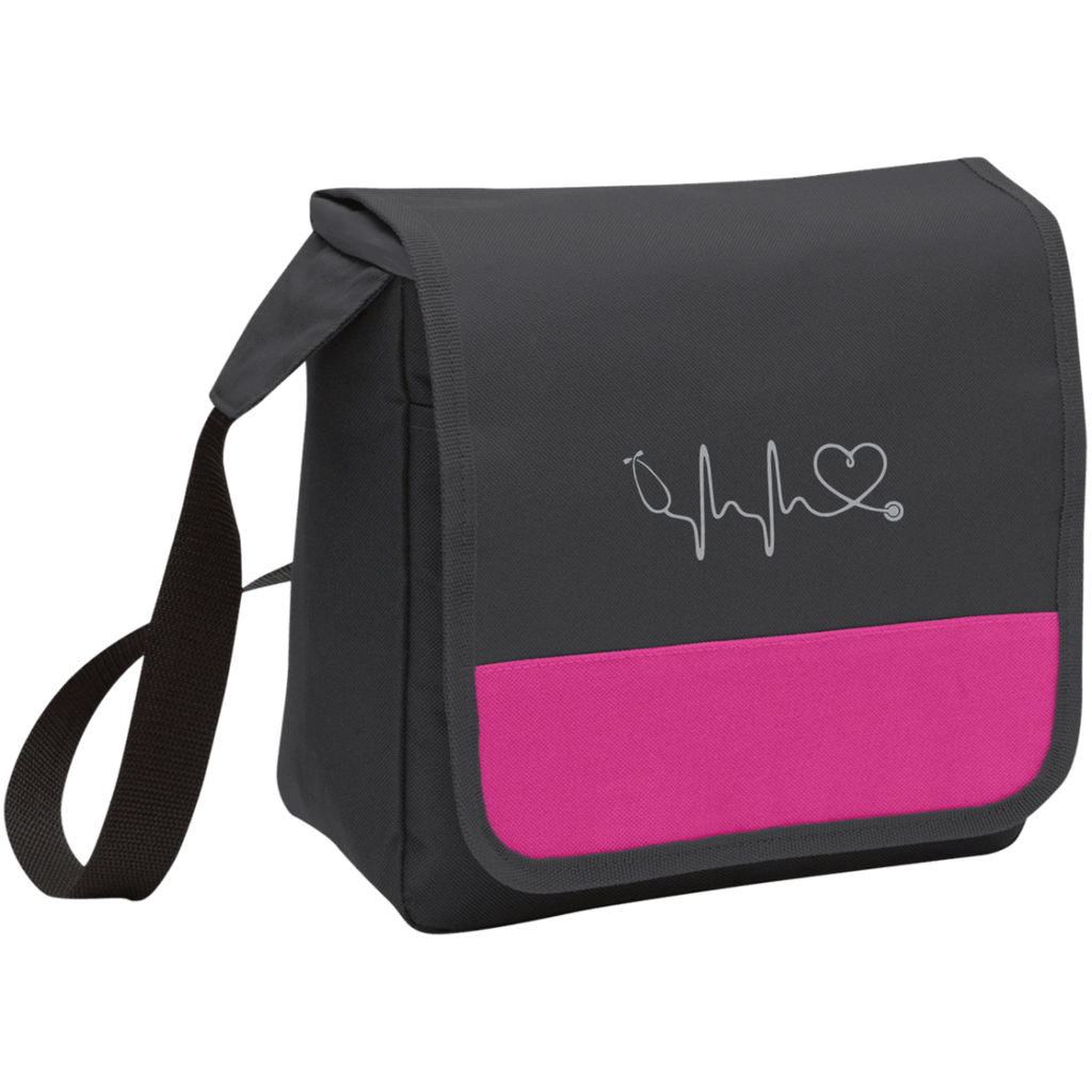 Image of Amazing Nurse/Doctor Heart Embroidered Lunch Cooler