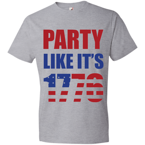 Party Likes 1776 980 Anvil Lightweight T-Shirt 4.5 oz