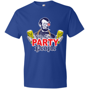 We The Party People 980 Anvil Lightweight T-Shirt 4.5 oz