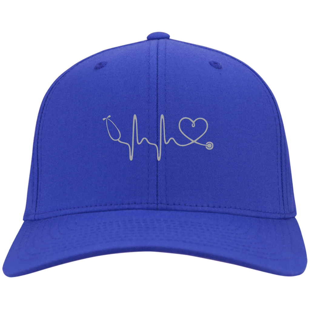 Amazing Nurse/Doctor Heart Embroidered Twill Cap