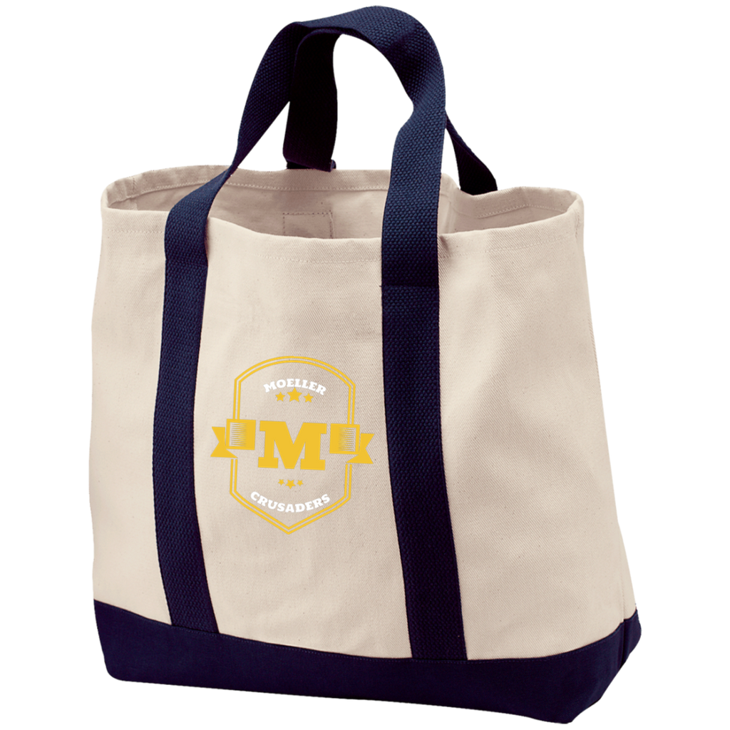 Image of Moeller 2-Tone Shopping Tote