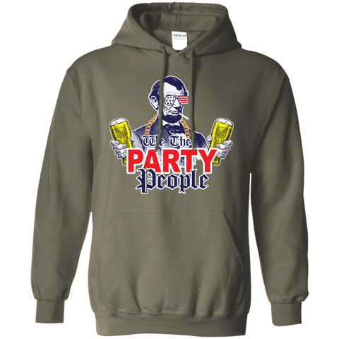 We The Party People G185 Gildan Pullover Hoodie 8 oz.