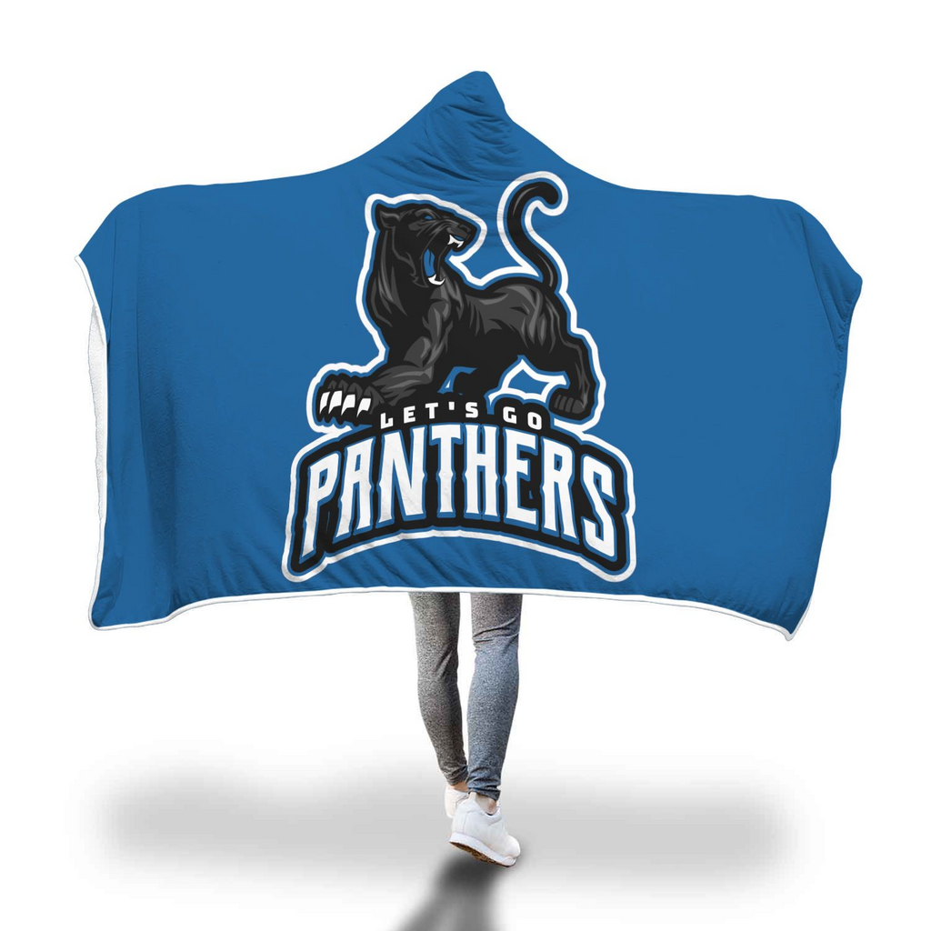 Panthers Hooded Blanket