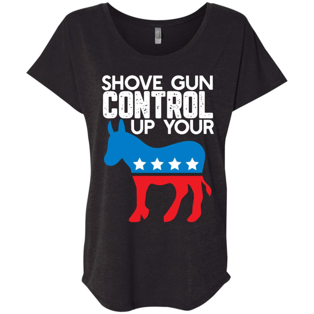 Shove Gun Control Up Your-Apparel-Amazing Tee Swag