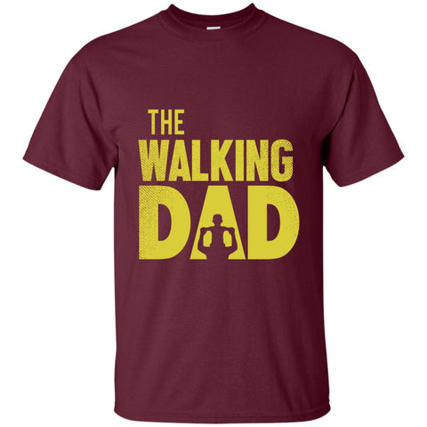 Image of The Walking Dad Cotton T-Shirt-T-Shirts-Amazing Tee Swag