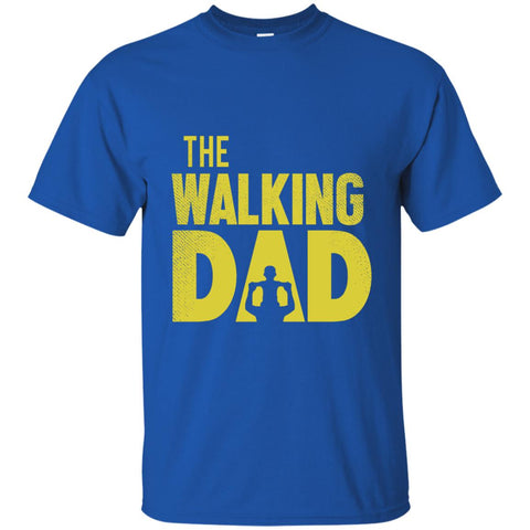 The Walking Dad Cotton T-Shirt-T-Shirts-Amazing Tee Swag
