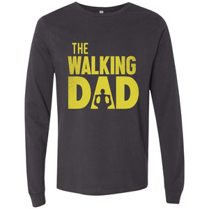 The Walking Dad Men's Jersey LS T-Shirt