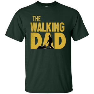Walking Dad Lawn Cotton T-Shirt
