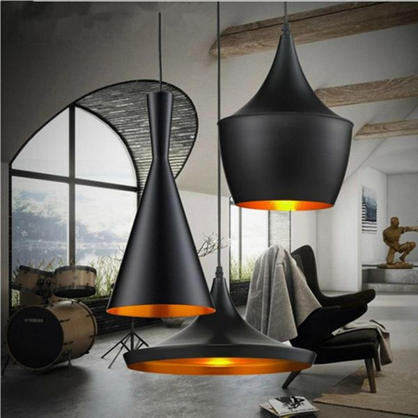 Suspension de style industriel