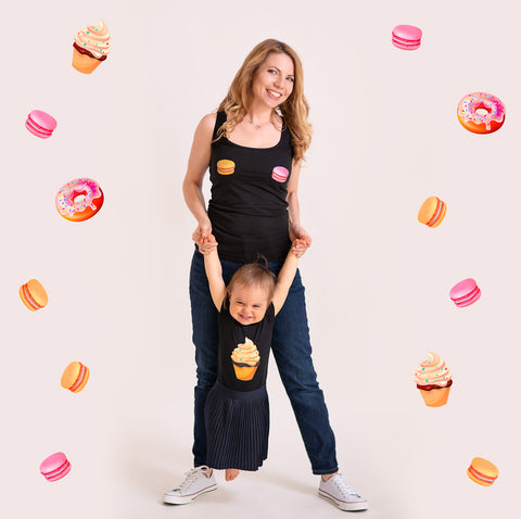 "Women Tank Top ""Sweetie"" - Family Candy Collection"