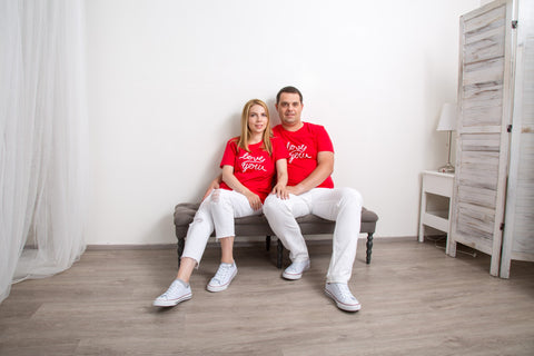 СOUPLE T-SHIRTS 'Love You'