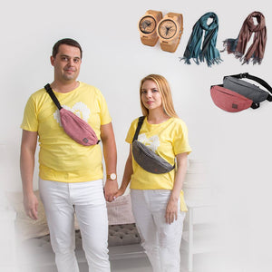 "Couple T-Shirt ""Yellow Love"""