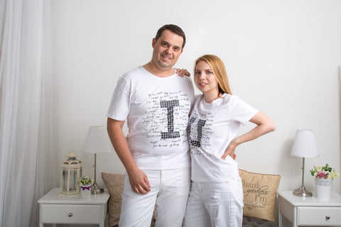 "Couple T-Shirt ""I/U Pixel"""